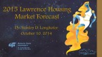 2015 Lawrence Housing Market Forecast Presentation