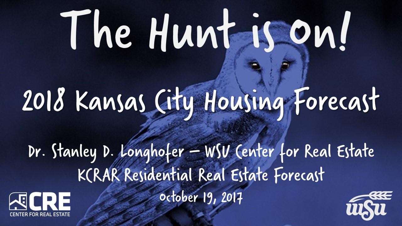 KCRAR Residential Real Estate Forecast Presentation