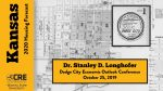 Dodge City Economic Outlook Conference Presentation